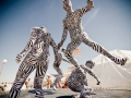 One of the best things about wandering at Burning Man is stumbling upon random happenings like this one.